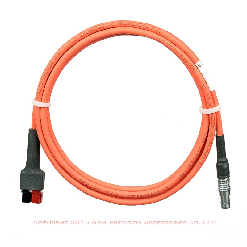 10 Battery Cable : Geomax zenith gps battery cable cables