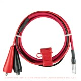 Sokkia GSR2600 / GSR2700 Fused Battery Cable