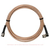 41300-02 GPS Antenna Cable TNC to Right Angle TNC