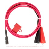 Topcon GTS GPT 750 7500 900 9000 Battery Cable with ATO Fuse and Clips